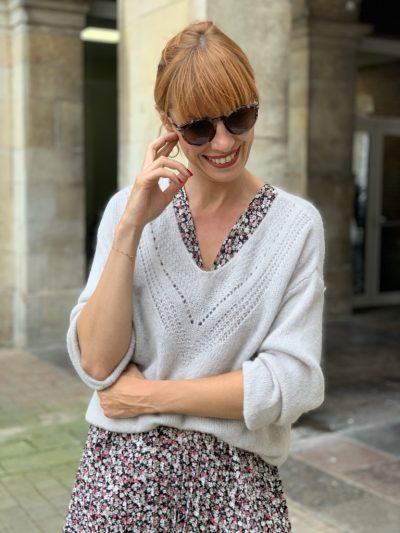 PULL SUZETTE TAUPE